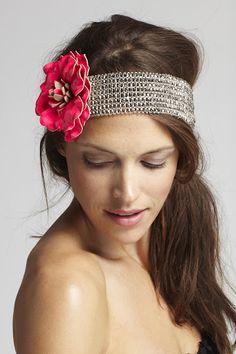 Headband love.