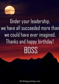 Birthday Wishes To Madam Happy Sir Boss Poems
