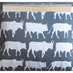 cows fabric for Max