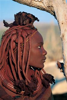 Tribal people - Himba, of Namibia