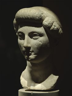 Julia Maior, daughter of August. Marble. Before 2 B.C.E. Inv. No. I 1316. Vienna, Museum of Art History. (Photo by I. Sh.).