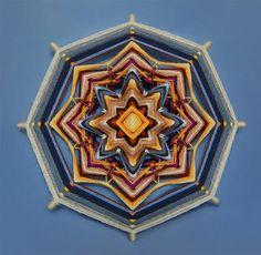 Handmade wool Mandalas to buy online