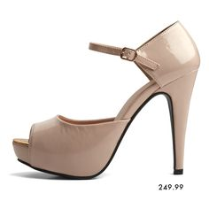 Step up! New Look, Heeled Mules, Latest Fashion, Peep Toe, Pencil, Skirt, Shoes, Honey, Zapatos