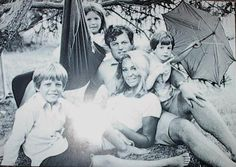 Ted Kennedy and his family.