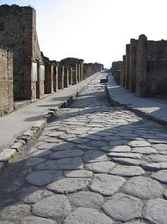 The Forgotten Roads of Ancient Rome ... A Short Story