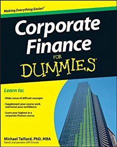 Amazon ❤ Corporate Finance For Dummies by [Taillard, Michael]