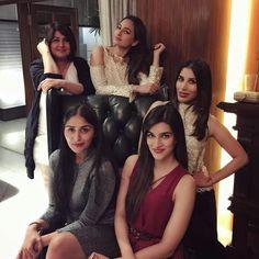 Girls girls girls  Sonakshi SinhaKriti Sanon #LoveMom