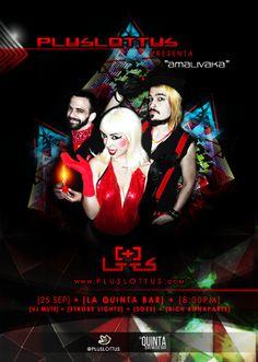 """Cresta Metálica Producciones » PLUSLOTTUS presenta su Gira """"AMALIVAKA 2013"""" en Venezuela!!!"""