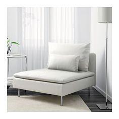 SÖDERHAMN 1-seter seksjon, Finnsta hvit - Finnsta hvit - IKEA