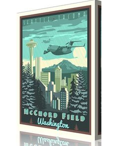 Share Squadron Posters for a 10% off coupon! McChord Field, Washington C-17 #http://www.pinterest.com/squadronposters/