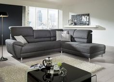 Useful tips to get the perfect sectional sofa for your home Colorful Couch, Sofa Colors, Sofa Home, Luxury Sofa, Sofa Bed, Sectional Sofas, Couches, Corner Sofa, Living Room Sofa