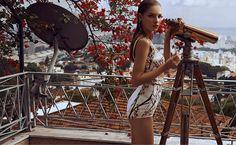 Mayara Rubik in Dolce&Gabbana for Vogue Mexico by Alexander Neumann