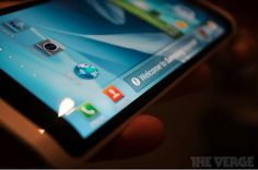 Samsung Youm flexible OLED display smartphone shown at CES 2013