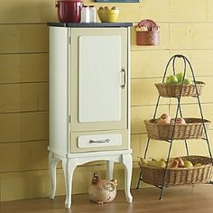 Hoosier Jelly Cabinet   18 X 13.5 X 44 Also Cute For Kitchen For Dishes,