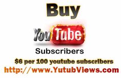 Buy youtube subscribers 100% safe