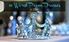 10 Worst Prom Dresses of 2014 -Momo