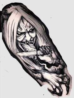 Japan Tattoo Design, Tattoo Design Drawings, Tattoo Sketches, Drawing Sketches, Tattoo Designs, Naruto Tattoo, Anime Tattoos, Mascara Oni, Naruto And Sasuke Wallpaper
