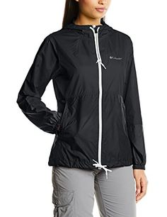 Columbia Womens Flash Forward Windbreaker Black Matte Medium >>> To view further for this item, visit the image link.(This is an Amazon affiliate link)
