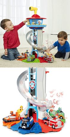 Is this the ultimate Paw Patrol Toy or what? This Paw Patrol My Size Lookout Tower looks HUGE! It's price tag is too, with an RRP of at most UK re. Paw Patrol Bedding, Paw Patrol Bedroom, Paw Patrol Stickers, Paw Patrol Toys, Toddler Christmas Gifts, Toddler Boy Gifts, Paw Patrol Lookout, Ryder Paw Patrol, Kids Toys For Boys