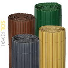 Sol Royal Pvc Sichtschutz-zaun Solvision - 120x400cm Bambus ... Sichtschutzzaun Aus Kunststoff Gute Alternative Holzzaun