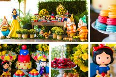 Festa Branca de Neve - Snow White party