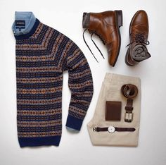 "2,562 aprecieri, 6 comentarii - Stylish Grid Game (@stylishgridgame) pe Instagram: ""Festive Sweater in this Stylish Grid by @stylesofman Follow @stylishgridgame …"""