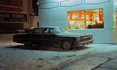 Langdon Clay spent two years roaming the streets of New York at night, photographing parked and abandoned cars, in the 1970s