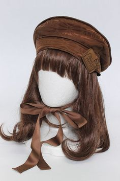 Angelic Pretty / Melty Ribbon Chocolate beret - closet child online shop