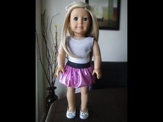 "Pinkypinkgirl has a YouTube channel with many tutorials:  ""Sewing & Crafting Tutorials for American Girl Dolls"""