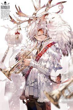 Anime Demon Boy, Anime Angel, Chica Anime Manga, Anime Chibi, Cute Anime Boy, Anime Art Girl, Fantasy Character Design, Character Design Inspiration, Cute Anime Character