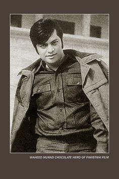 waheed Murad, chocolate hero of pakistani film, super star, pakistani film actor #pakistan #movie