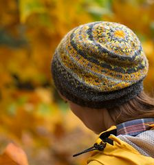 """Saudade"" Fair Isle hat knitting pattern by Ysolda Teague."