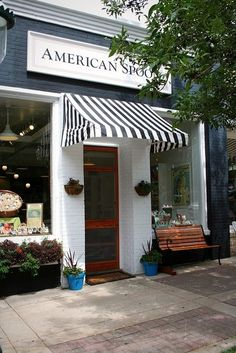 American Spoon Foods, Petoskey, MI.  This is a great little place to check out!  Maybe my favorite store of this kind; who doesn't love jams, jellies, sauces and all kinds of perfections for your meals? :)