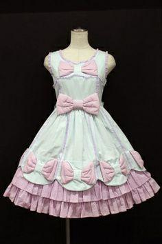 Angelic Pretty / メレンゲリボンジャンパースカート