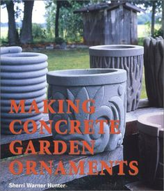 Concrete Planter Molds And Forms | Concrete: 43 DIY Projects for Home Garden « Cheap Garden Planters ...
