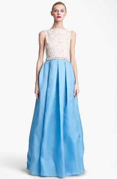 Brainy Mademoiselle: Beaded Gown