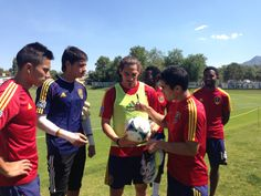 Some of the guys signing the ball for me :) I love my team! Real Salt Lake, Stand Up, Believe, Soccer, Guys, My Love, Sports, Get Up, My Boo