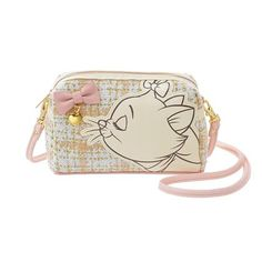 New Disney store Shoulder with vanity pouch bag Marie kawaii japan Backpack Purse, Pouch Bag, Purse Wallet, Cute Purses, Purses And Bags, Marie Cat, Gata Marie, Disney Store Japan, Disney Purse