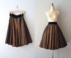 Penny Serenade skirt / vintage 1950s skirt / 50s by DearGolden, $114.00