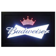 Luminoso Budweiser Em Led 32x22x4cm