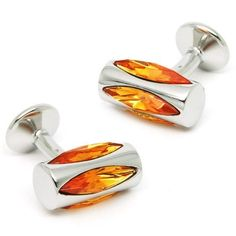 1c0f7784ff60 Fashion Cylindrical Shape Cufflinks Mosaic Crystal,Shop the largest  selection in designer cufflinks,,fish cuff links