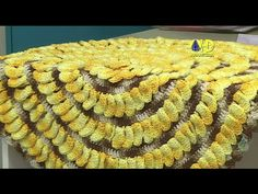 Vida com Arte | Tapete de gomos em crochê por Cristina Luriko - 11 de Julho de 2015 - YouTube