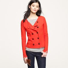 JCrew Double-breasted Sweater jacket (Fall 2011)