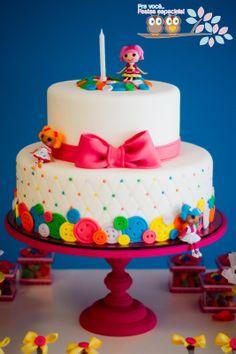 Pra você festas especiais: Lalaloopsy para o 1º aniversário da Helena