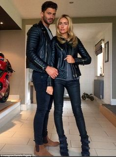Hell for leather!Clearly loving their looks, Jake and Danielle both took to their respective Instagram accounts to share images in their ensembles