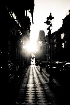 Sunrise over Prague