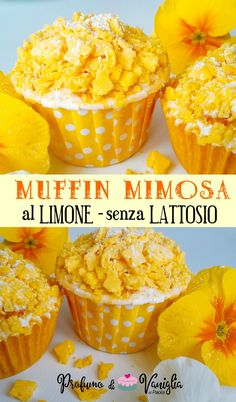 Pancake Muffins, Italian Cake, Small Cake, Biscotti, Italian Recipes, Sweet Recipes, Food Porn, Food And Drink, Healthy Eating