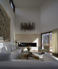 Fireplace in Nove 2 by Studio B Architecture Interiors