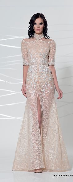 Antonios Couture Fall-winter 2017/2018 - Ready-to-Wear - http://www.orientpalms.com/Antonios-Couture-6741