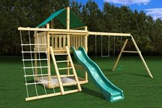 Best plans--- Plan It Play DIY Eclipse Fort Swing Set Kit with Swing Beam